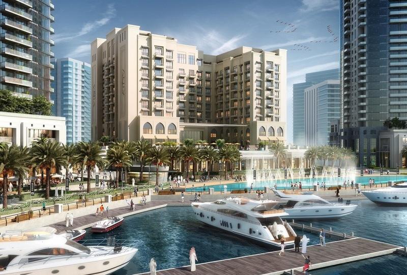 Vida Harbour Point at Dubai Creek.