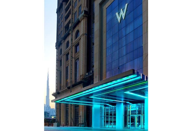 The W Dubai at the Al Habtoor City opened this June in Dubai.