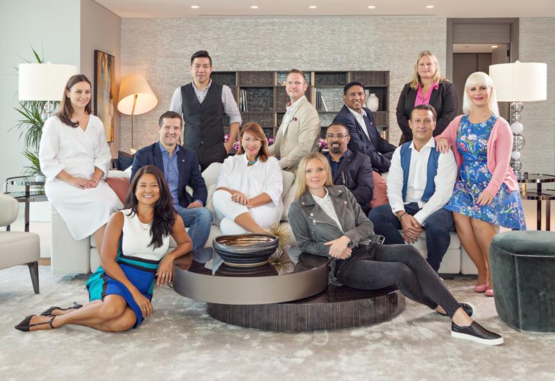 The W Dubai - The Palm management team.