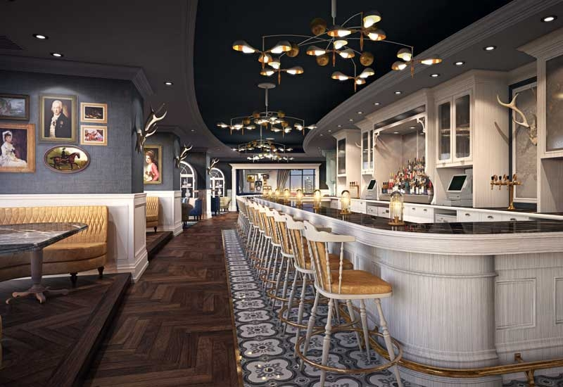 Weslodge Saloon has opened in Dubai's restaurant scene at the JW Marriott Marquis in Business Bay.