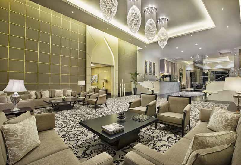 The Royal Suite is the largest suite in Dubai.