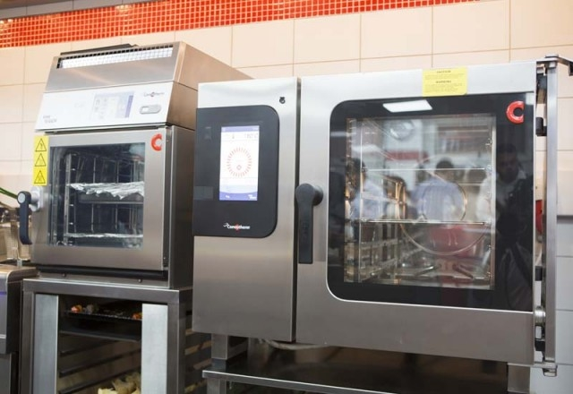 Welbilt's Convotherm 4 and the Merrychef eikon e2S oven platforms.