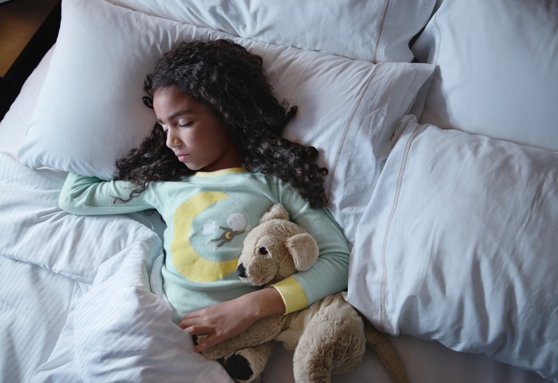 Westin Hotels & Resorts' Project Rise ThreadForward processes and reweaves hotel bed linens transforming them into thousands of pairs of childrens pajamas