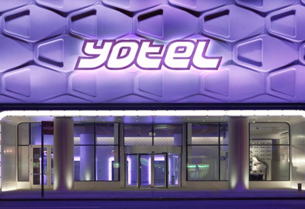 The 669-cabin Yotel Times Square