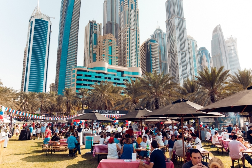 Sopexa hosted Apritif  la franaise at the Westin Dubai Mina Seyahi Beach Resort & Marina Amphitheatre and Gardens