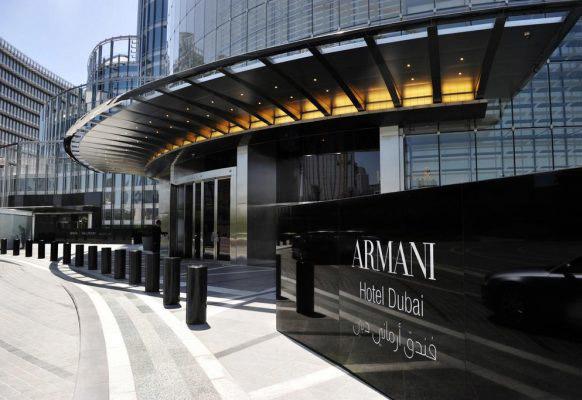 Armani Hotel Dubai.