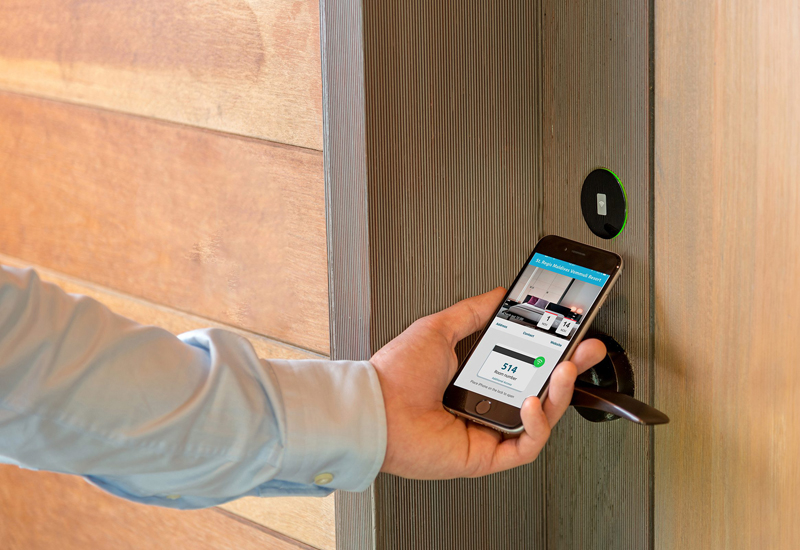 Assa Abloy Hospitality partner with OpenKey to bring digital key solution.