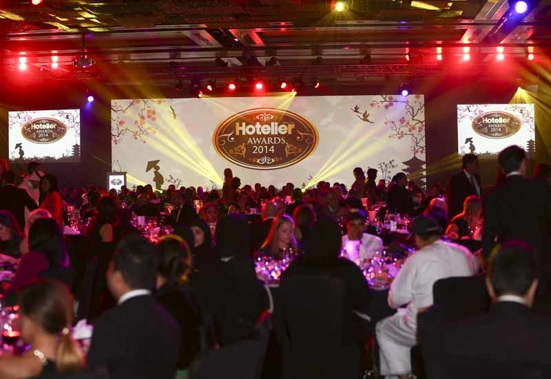 600 people attended the 10th anniversary Hotelier Middle East Awards 2014.