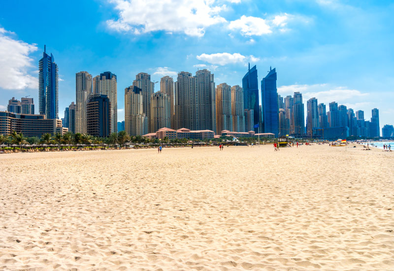 Dubai's beachfront is dominated by five-star hotels, but there could be space for the mid-market segment in the future.
