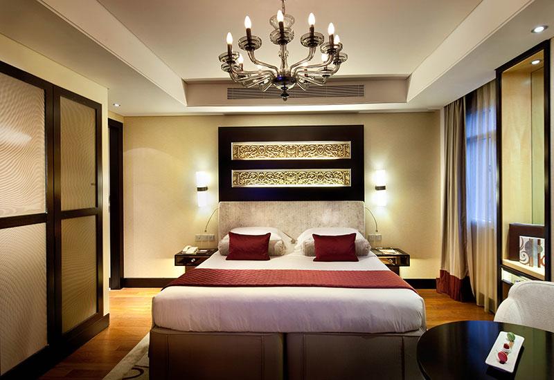 Superior Room at Kempinski Hotel Mall of the Emirates.
