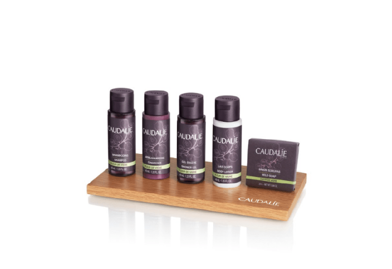 Groupe GM collaborates with Caudalie, will soon launch new amenities line.