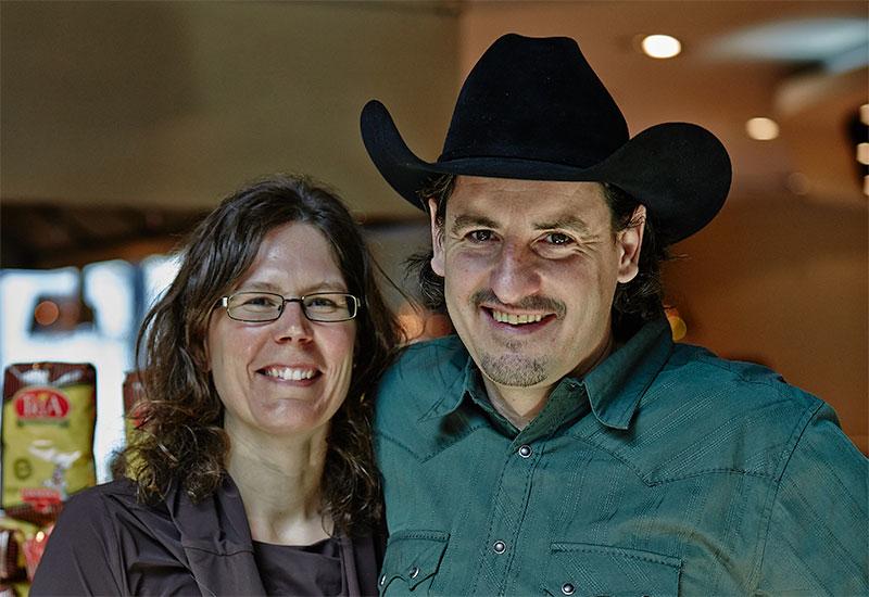 Erika and Christoph Weder