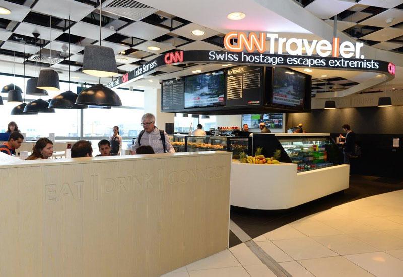 The CNN Traveller café