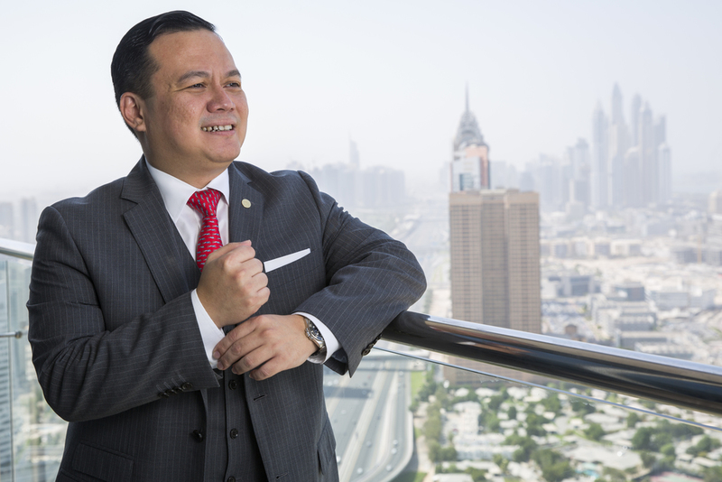 Frasers Hospitality Middle East and Africa pre-opening area manager Cyril Warsono.