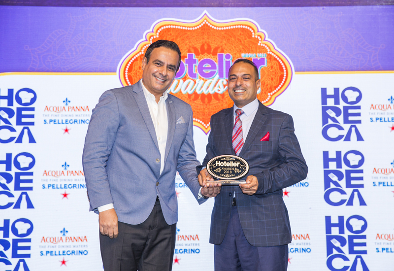Reports, Hotelier awards 2018, Hotelier middle east awards, Mövenpick Resort Petra, F&b manager of the year