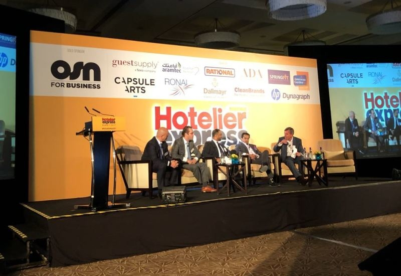 The first panel at the Hotelier Express Summit