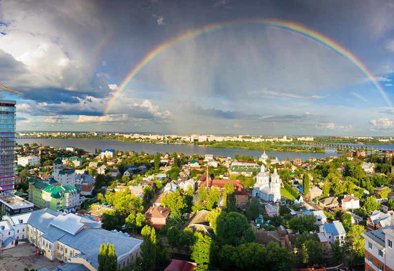 Voronezh is a major city in western Russia with a population of more than one million.