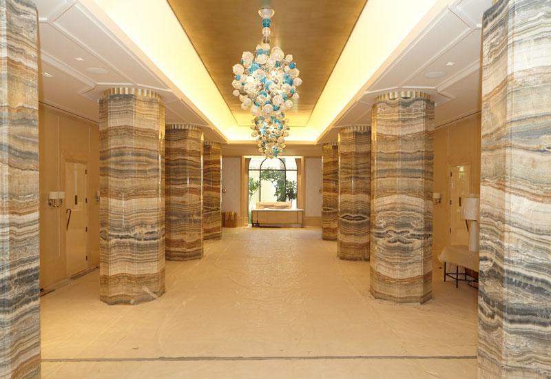 The grandiose lobby area.