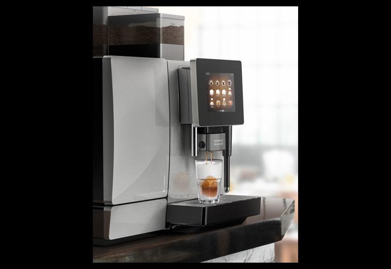 A Franke coffee machine