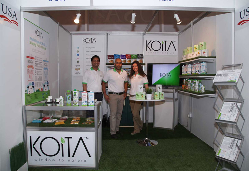 The Koita stand at Gulfood 2015