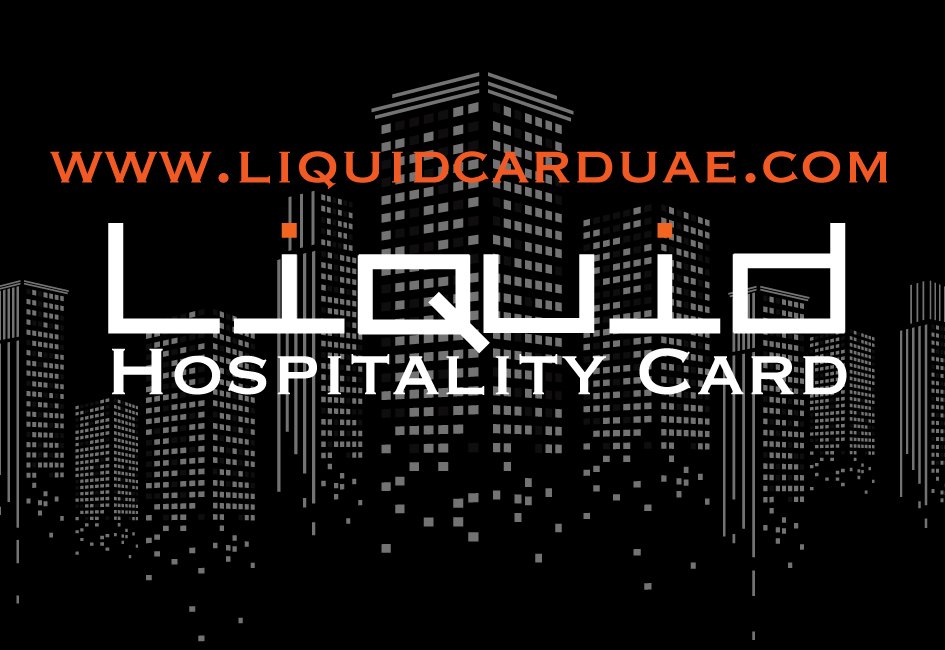Liquid Hospitality Card.