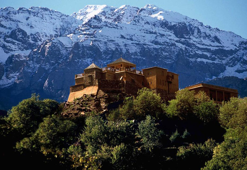 Kasbah du Toubkal, one of the member hotels [image: National Geographic Unique Lodges of the World]