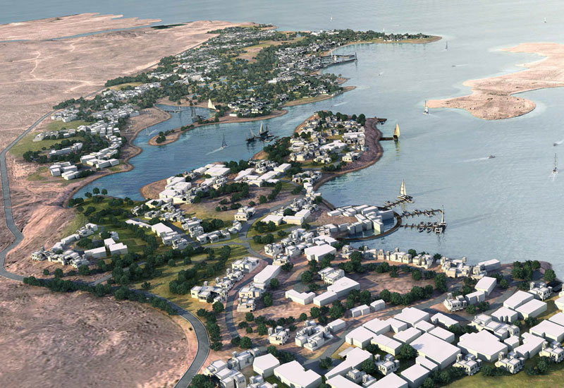 A rendering of the Ras Al-Hadd project in Oman