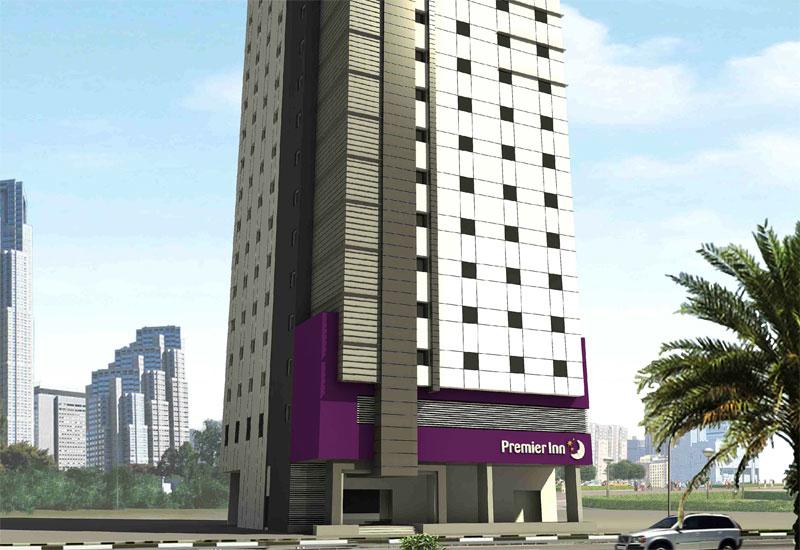 A rendering of Premier Inn Sharjah