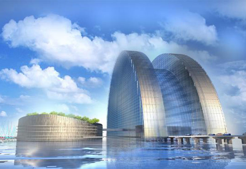 A rendering of the planned Silver Pearl Hotel