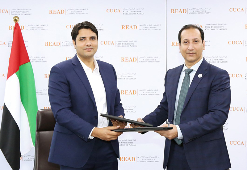 R Hotels signs MoU with CUCA for student internships.