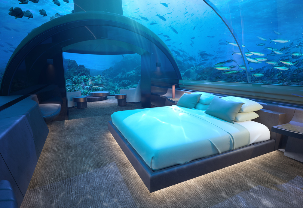 Conrad Maldives Rangali Island begins first ever undersea residence project.