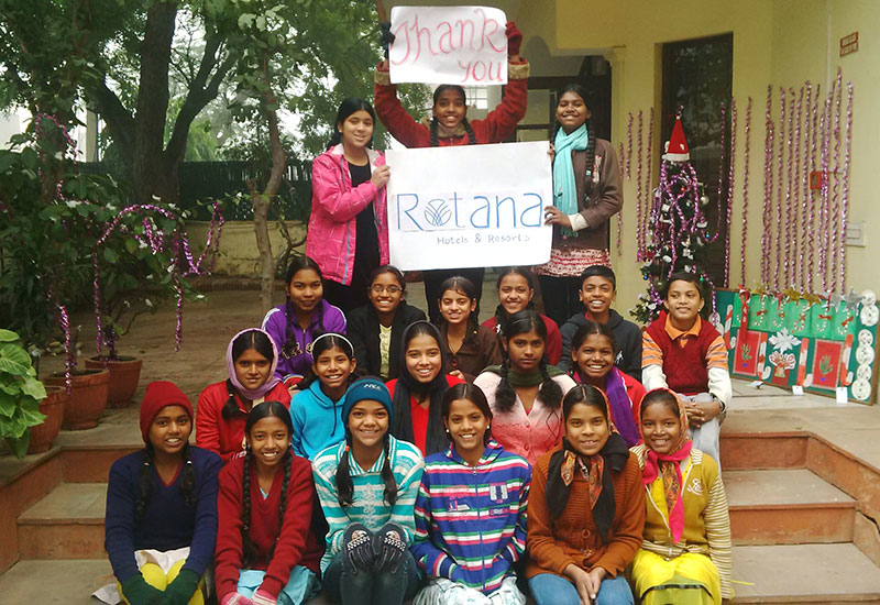 Harmony House in India is among the charities Rotana raises funds for.