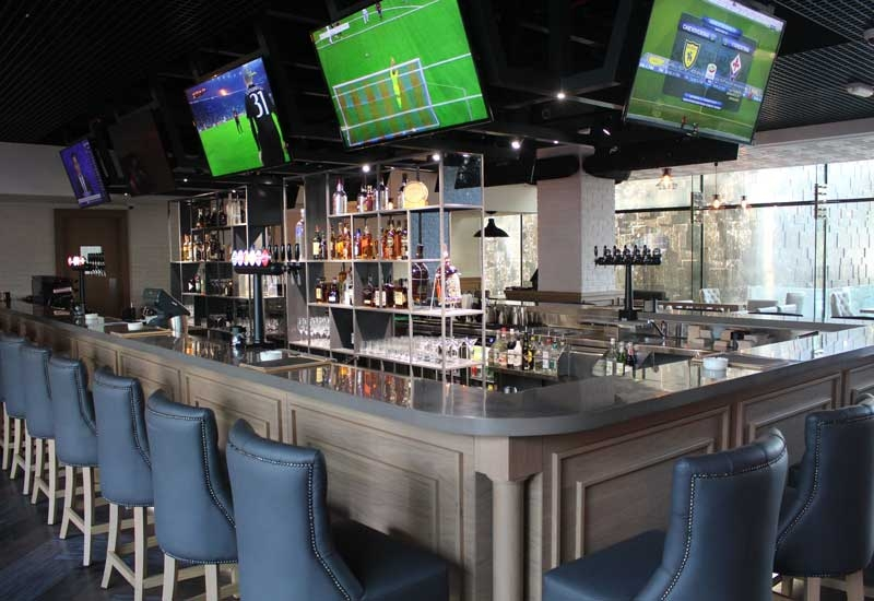 Sports Cafe at Fairmont Bab Al Bahr.