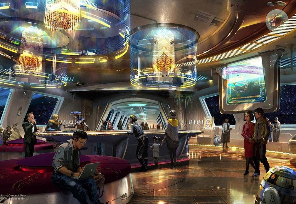 Artistic rendering via Disney
