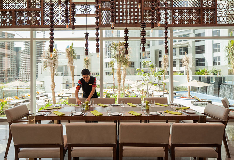 Tesoro is the hotel's all-day dining outlet.