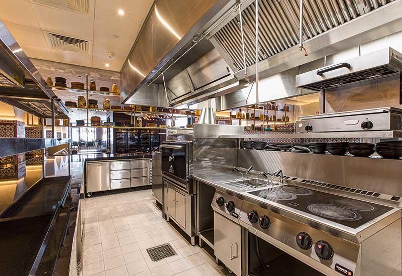 Rya kitchen interior, developed by TSSC.