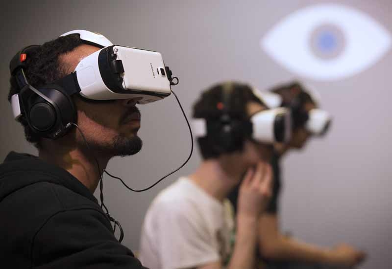 Virtual reality to be in homes first by early next year.