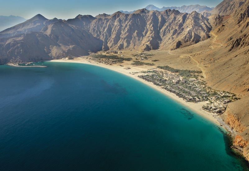 Zighy Bay is set apart from competition in Oman and the UAE by its remote Musandam location.
