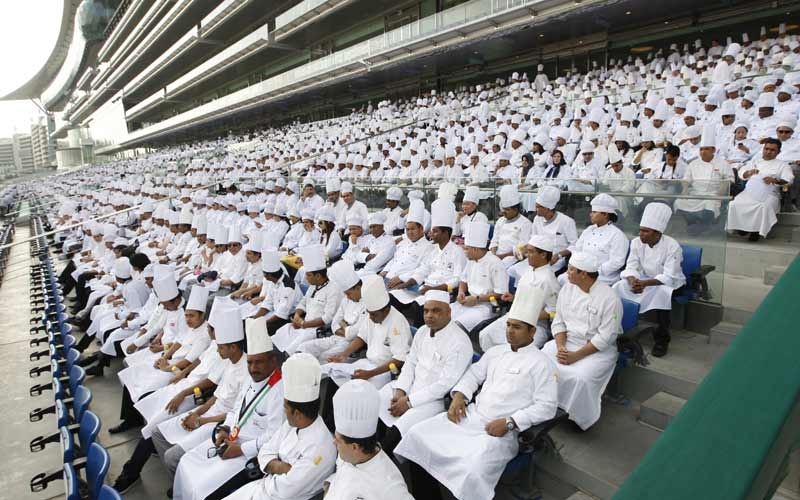 PHOTOS: UAE chefs team up to smash world record