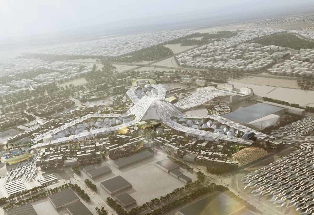 FIRST LOOK: Dubai's planned Expo 2020 development