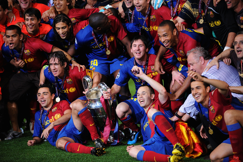 Barcelona are one of the teams that will play in Abu Dhabi in December
