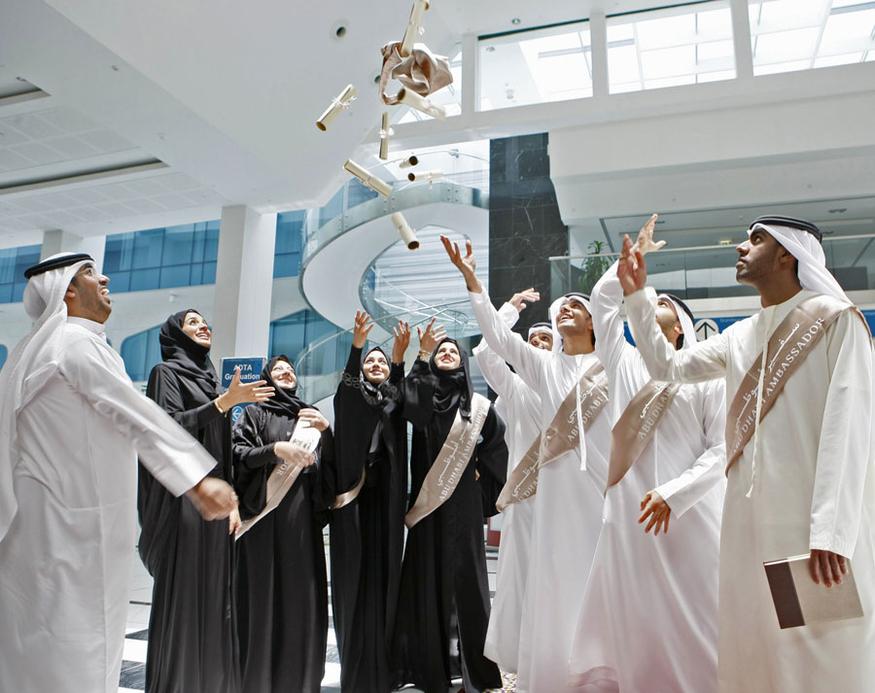 The Abu Dhabi Ambassadors graduate from the programme