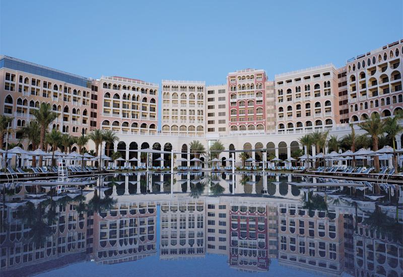 The newly opened AED 1.5 billion, 532-key Ritz-Carlton Abu Dhabi Grand Canal.