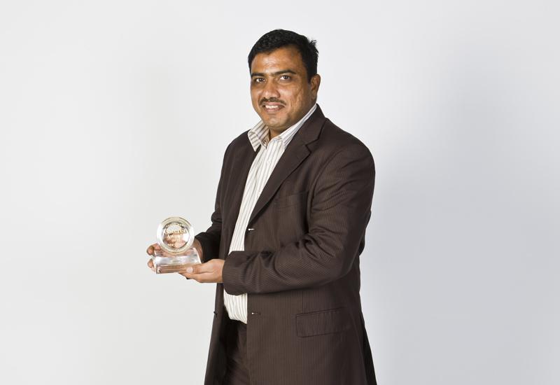 Ismail Kureshi, sous chef at Le Meridien Al Aqah Beach Resort, collected the award on behalf of Kumar