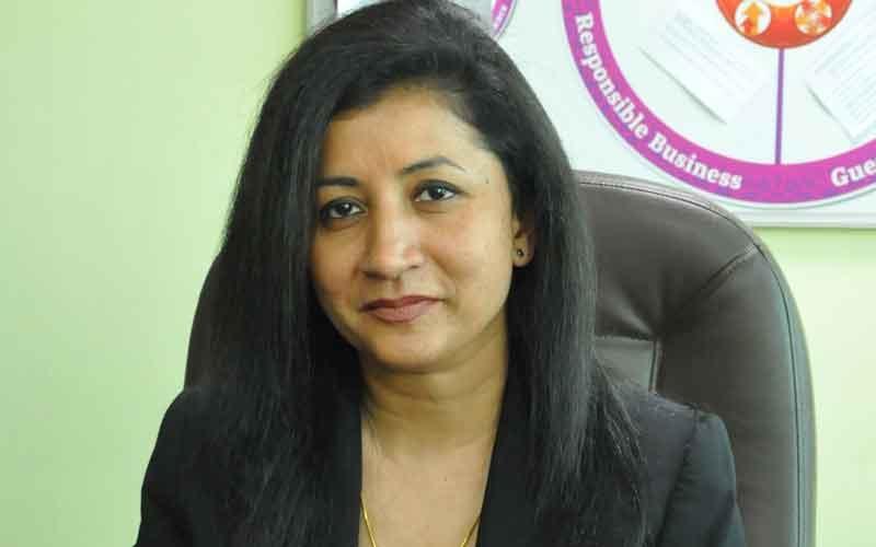 Akshi Singh, director of housekeeping, Crowne Plaza Kuwait
