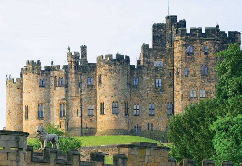 Alnwick Castle, Northeast of England.
