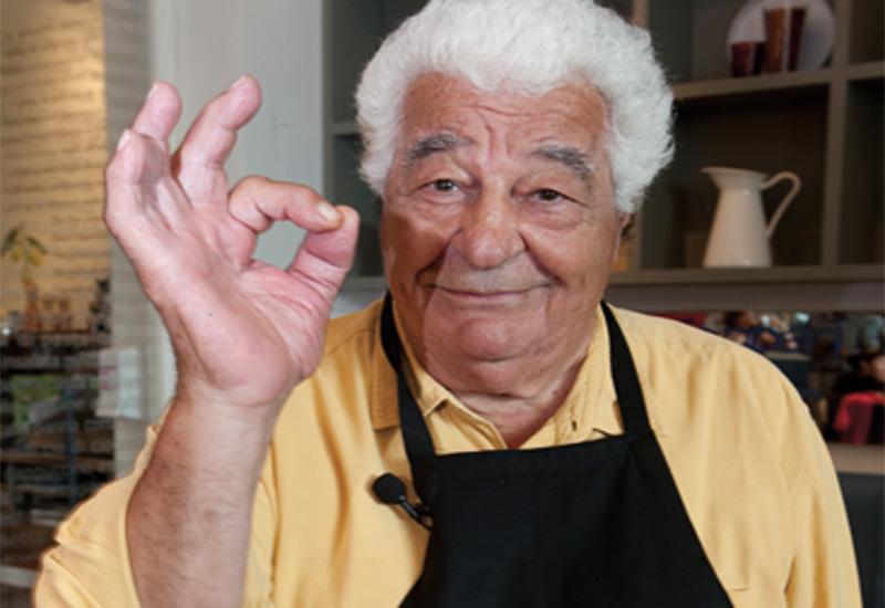 Italian chef Antonio Carluccio