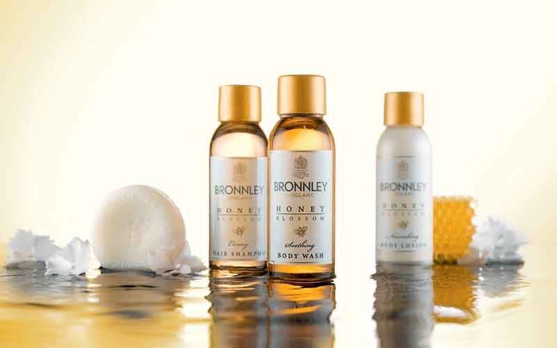 Bronnley has partnered with ADA Cosmetics to distribute its Honey Blossom range across the hotel industry.