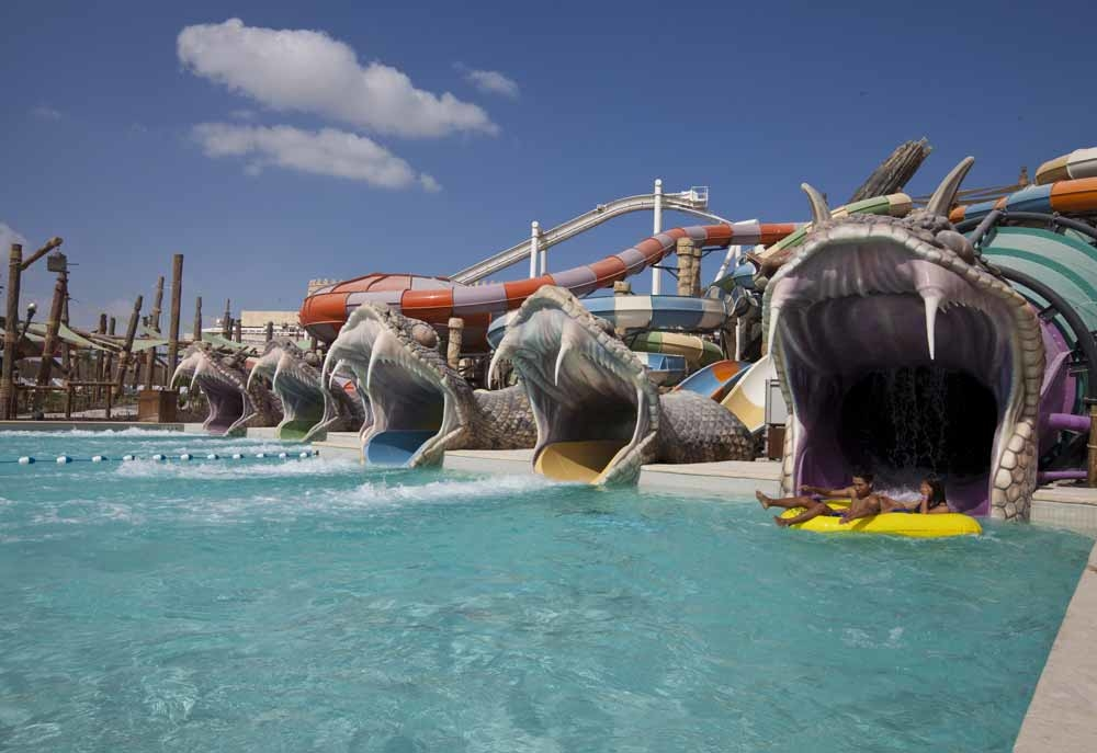 Yas Waterworld becomes the UAE?s largest water park with 43 rides and slides.