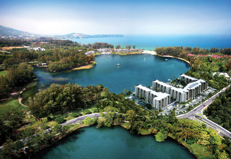 How one of the first Cassia projects, in Phuket, will look